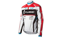 Cube Multifunctionele-Jas Teamline wit/zwart/rood/blauw